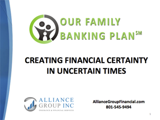 Our Family Banking Plan Report